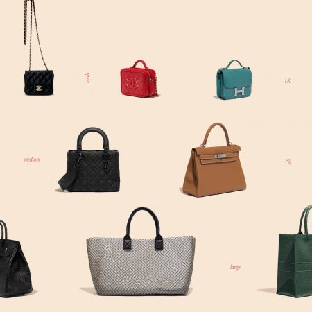 From micro to maxi bags