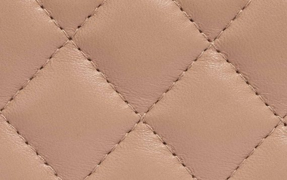 Chanel Lambskin Leather Nude Timeless Flap Bag SACLÀB