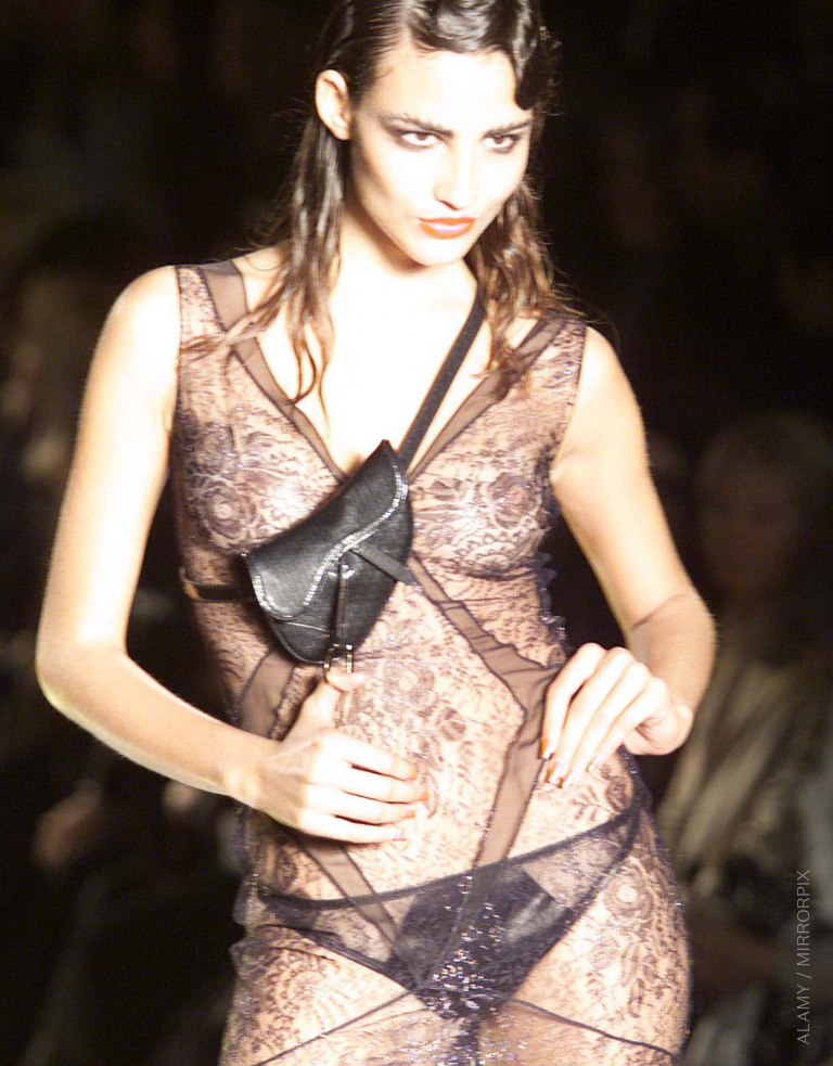 Dior Saddle Bag by John Galliano for Fall/Winter RTW 2000