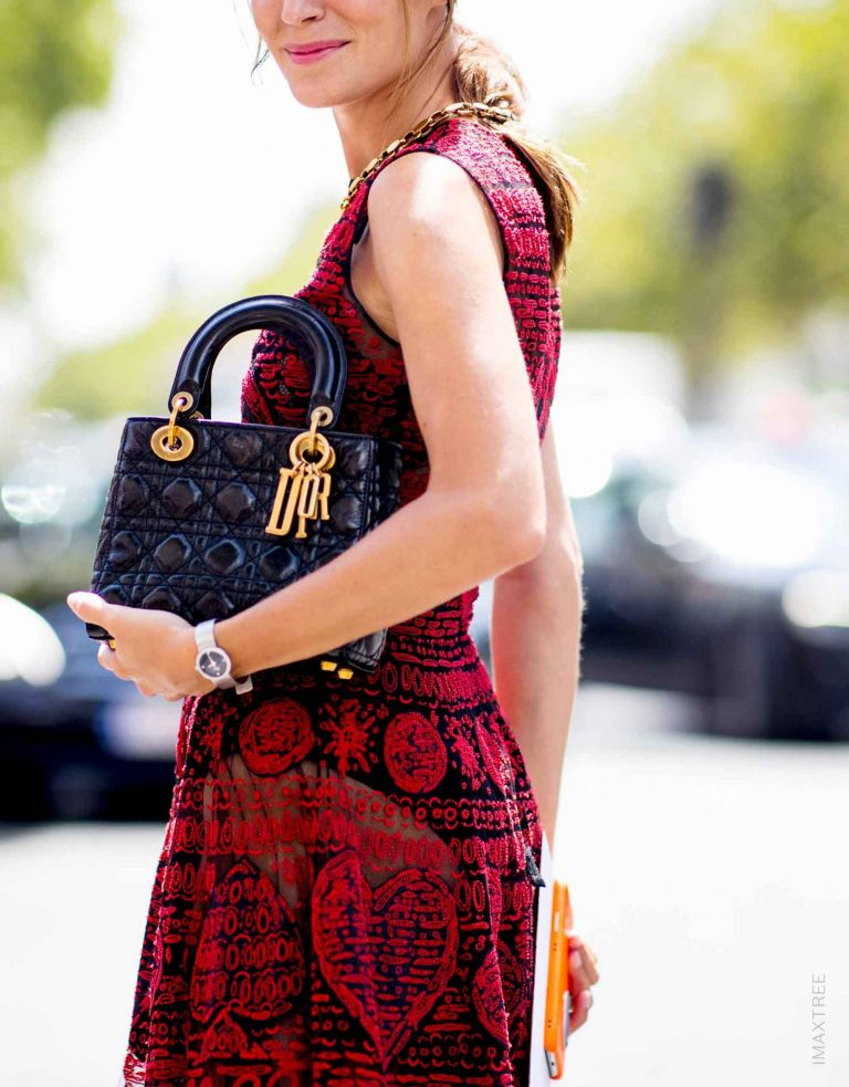 Lady Dior Streetstyle Paris   Buy & sell pre-owned luxury handbags with SACLÀB