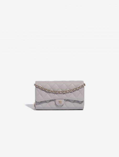 Chanel Timeless WOC Caviar Grey  Front   Sell your designer bag on Saclab.com